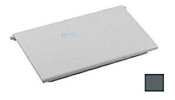 AquaStar Skimmer Weir Plate with 2 Clips | Dark Gray | SKWD105