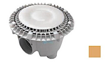 """AquaStar 8"""" Sump Bucket with Super Low Profile Anti-Entrapment Cover with Riser Ring 