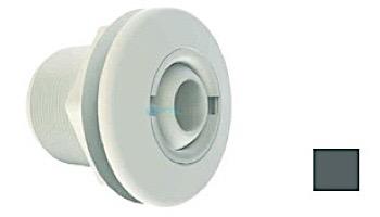 "AquaStar Large 2"" Return Fitting | with Gasket Nut and Eyeball Nut | for Fiberglass or Steel | Black | 1020F102"