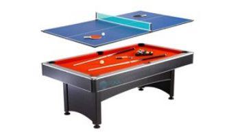 Hathaway Maverick 7-Foot Pool Table with Table Tennis Top   NG1023 BG1023