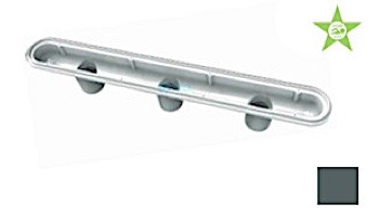 "AquaStar 32"" PVC Channel Drain 3 Port Sump Only with Plaster Shield (VGB Series) | White | 32CDP101"