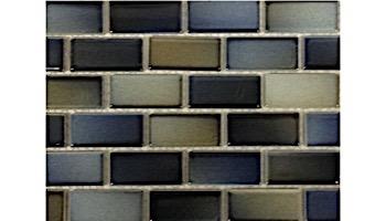 "Fujiwa Tile Glasstel Mosaic Series 7/8"" x 1-7/8"" | Captain Blue | Glasstel-13"