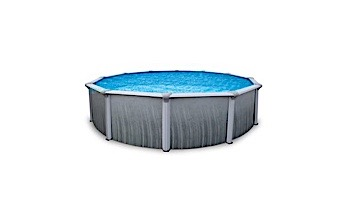"""Martinique 24' Round Steel Wall Pool 52"""" Tall without Liner 