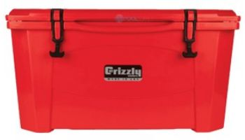 Grizzly 60 Beverage Cooler   Red   G60RED   400023