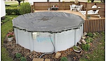 Arctic Armor Winter Cover | 24' Round for Above Ground Pool | 20-Year Warranty | WC9805