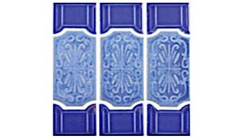 US Pool Tile Florence Series | Blueberry | FLO1001