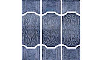 US Pool Tile Florence Series | Stone Blue | FLO1005