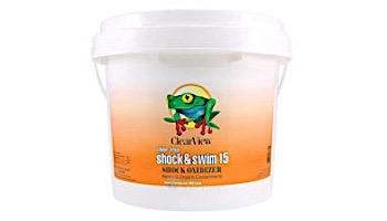 ClearView Chlor Free Shock & Swim 15 | 1 LB Bag | CVCF001