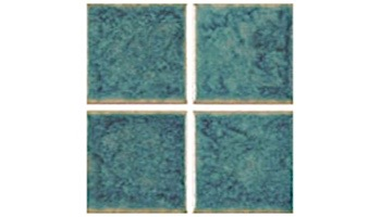 US Pool Tile Cloud 3x3 Series | Olive Blue | CLO331
