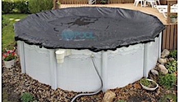 Arctic Armor Rugged Mesh Winter Cover | 18' x 34' Oval for Above Ground Pool | 8-Year Warranty | WC638