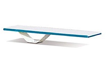 SR Smith Frontier II Jump Stand with Frontier II Board Complete   6'  Radiant White with White Tread   68-209-58662