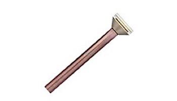 "FX Luminaire 1LED 18"" Riser Assembly | Copper Finish | G1LED18RACU"