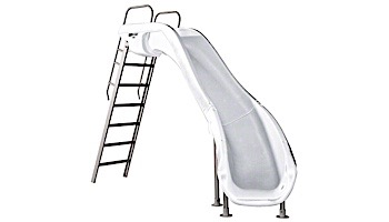 SR Smith Rogue2 Pool Slide | Right Curve | White | 610-209-5812
