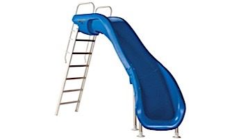 SR Smith Rogue2 Pool Slide | Right Curve Blue | 610-209-5813