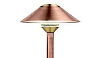 """FX Luminaire CB 1 LED Pathlight   Copper Finish   12"""" Riser   CB-1LED-12R-CU KIT"""