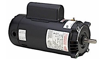 Replacement Keyed Shaft Pool Motor .75HP | 115/230V 56 Round Frame Full-Rated B121 | EB121