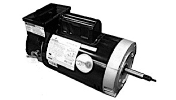 Replacement Threaded Shaft Pool Motor .75HP | 230V 56 Round Frame Full-Rated | Two Speed with Timer B2973T | EB2973HT