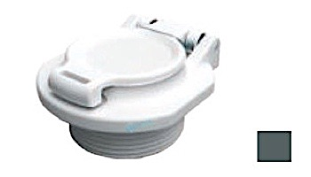 "AquaStar Safety Vacuum Lock Wall Fitting 1.5"" | Black | VLK15T02"