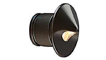 FX Luminaire PO 1LED Standard Wall Light   Spot Faceplate   Bronze Metallic   PO-1LED-ST-BZ