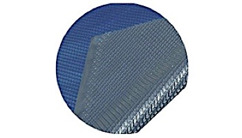 Space Age Solar Cover | 24' Round for Above Ground Pool | Blue-Silver | 5-Year Warranty | 8-MIL Thickness | SC-BS-000005