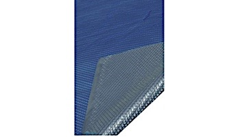 Space Age Solar Cover   18'x40' Rect for In Ground Pool Blue-Silver   5-Year Warranty   8-MIL Thickness   SC-BS-000045