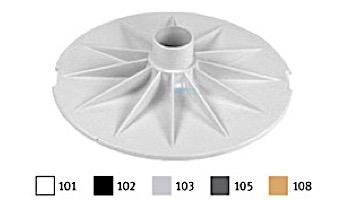 AquaStar Skimmer Vacuum Plate | White | SK43101