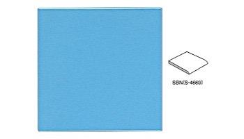 National Pool Tile 6x6 Solid Single Bullnose Tile | Glossy Navy - SBN | M6766PG SBN