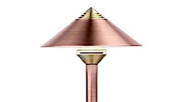 """FX Luminaire QF LED Pathlight   Copper Finish   12"""" Riser   QF-1LED-12R-CU KIT"""