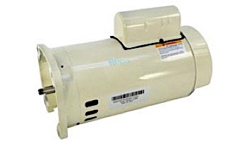 Replacement Pentair Motor Standard Efficiency | 56 Square Flange | 208/230V 2HP | Almond | 355026S
