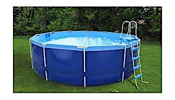 "Splash-A-Round Pools Quik Swim Metal Frame Pool   16' Round 48"" Tall   QS1648"