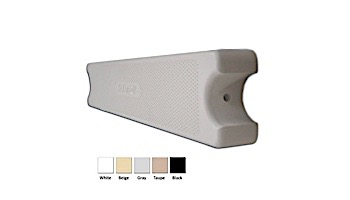 """Saftron Pool Ladder Step .25 Thickness 1.90"""" OD 