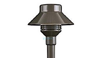 """FX Luminaire TM LED Pathlight   Flat Black Finish   12"""" Riser   TM-1LED-12R-FB KIT"""