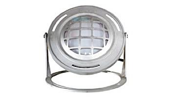 J&J Electronics PureWhite LED Underwater Fountain Luminaire   Base And Guard   120V 10' Cord   LFF-F1L-120-WG-WB-10