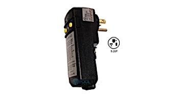 Leviton   GFCI 20Amps 110V 90 Degree Plug Without Cord   5-10-0027