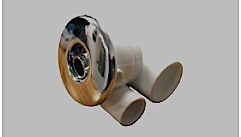 "Hydrabath Jet Assembly | Futura Jet 1"" x .5"" Chrome | FJ1X5-6"