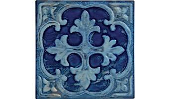 National Pool Tile Hana 6x6 Series   Sepia   HANA-SEPIA