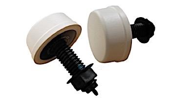 Herga Air Button | Mushroom, White | 3-15-0136