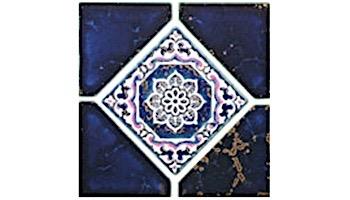 US Pool Tile Debutante Series | Terra Blue | DEB07
