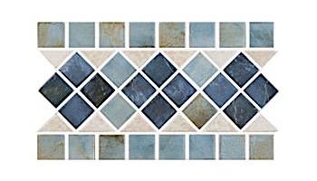 US Pool Tile Rustic Border Series | Earth | RBR123