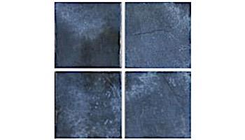 US Pool Tile Rustic Border 3x3 Series | Blue | RBR320
