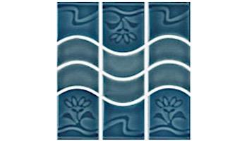 US Pool Tile New Surf Series | Teal | NS228