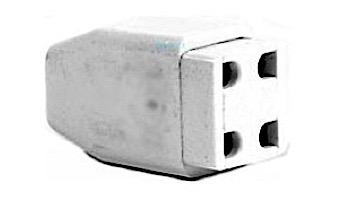 Aqua Ultraviolet Part - Lamp End Connector, 4 Holes   A40002
