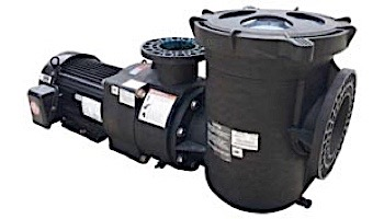 Pentair EQKT750 Series 7.5HP Commercial TEFC Pool Pump with Stainer | 3-Phase 208-230V/460V | 340605