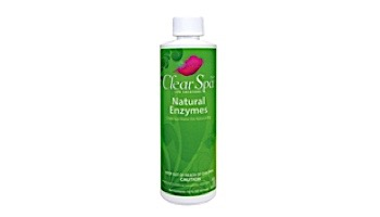 ClearSpa Natural Enzymes   1 Pint Bottle   CSLNEPT12