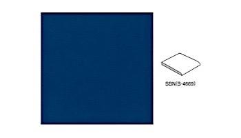 National Pool Tile 6x6 Solid Single Bullnose Tile | Glossy Light Blue | M6761PG SBN