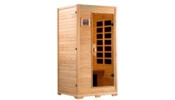 Golden Designs Studio Elite 1-2 Person Near Zero FAR Infrared Sauna | Hemlock | GDI-6109-01