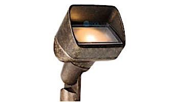 FX Luminaire PB 1 LED Wall Wash Light | Antique Bronze | PB-1LED-AB