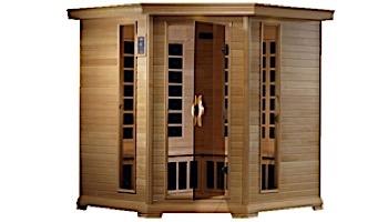 Golden Designs Monte Carlo Elite 4-5 Person Near Zero EMF FAR Infrared Sauna | GDI-6445-01