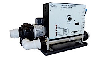 HydroQuip Baptismal Equipment | 5.5kW Heating and Control System | BES6000