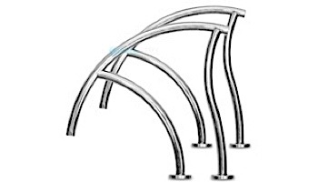 """Inter-Fab Designer Series Grab Rail Pair 